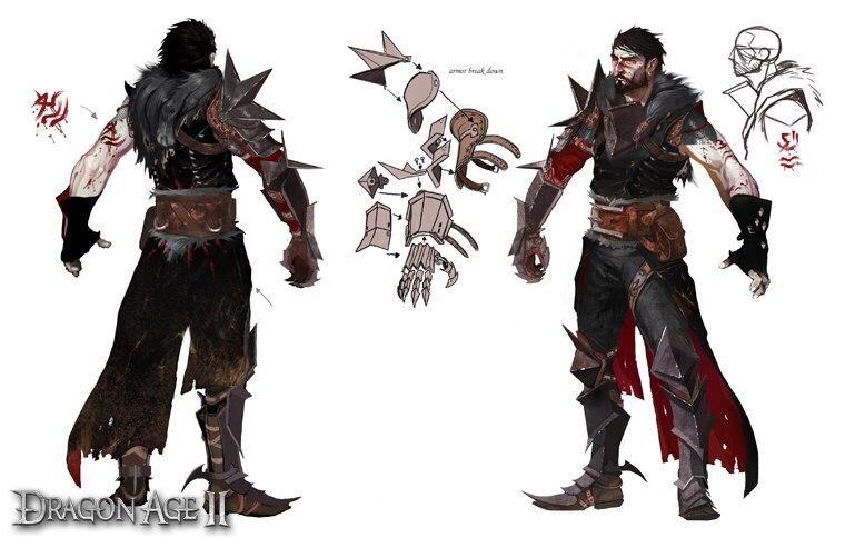 stabiele kwaliteit nieuwe lijst behoorlijk goedkoop Dragon Age 2 - Hawke Champion armor set, (mage, female ...