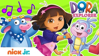 Fun Sing-Along Songs w/ Dora the Explorer! 🎤🎵| Sing-Along | Nick Jr.