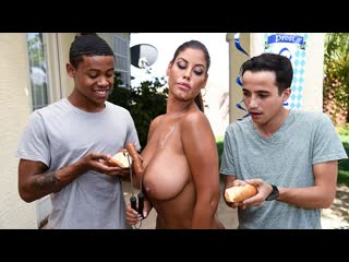 Bridgette b / its a sausage fest / big tits ass interracial facial milf hd