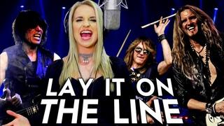 Triumph - Lay It On The Line - ft Gabriela Gunčíková - Joel Hoekstra - Rudy Sarzo - Ken Mary