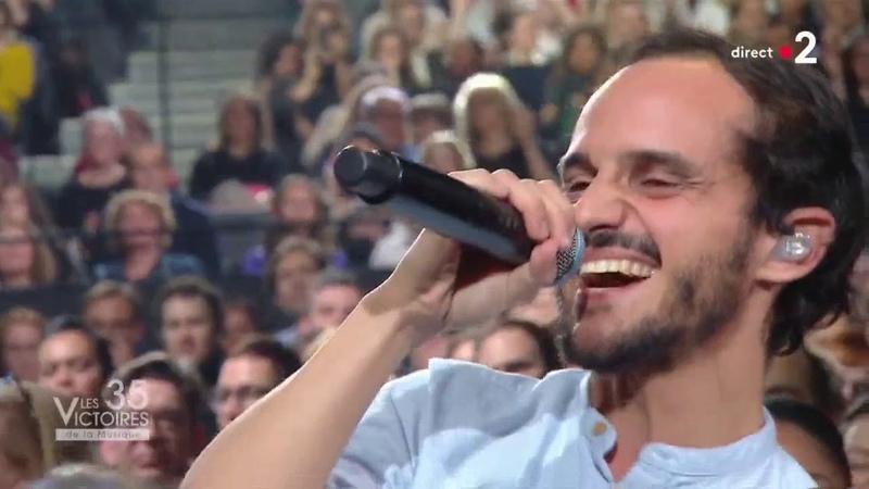 Vianney et Boulevard des airs Allez reste Les Victoires de la musique 2020
