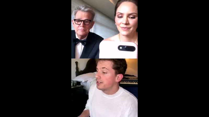 Charlie Puth and David Foster on their Instagram live 25 03 2020