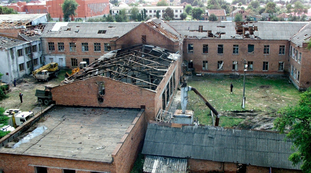 3 сентября 2004 года начался штурм школы №1 в Беслане