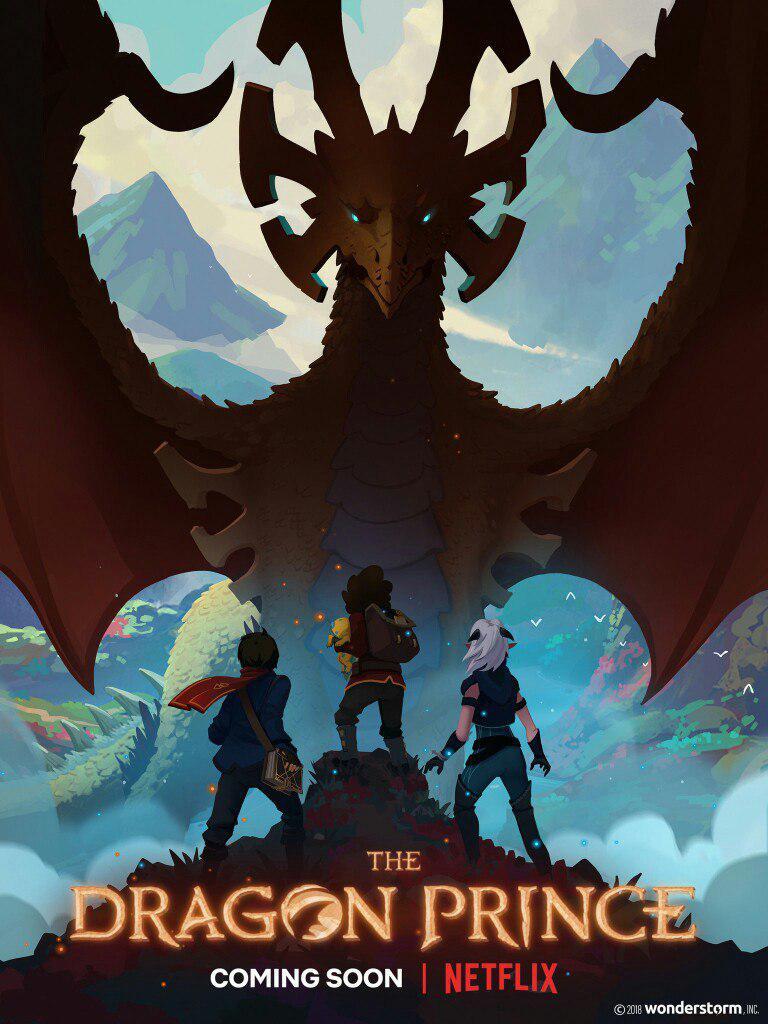 Первый постер нового мультсериала «Принц Драконов». Подробн