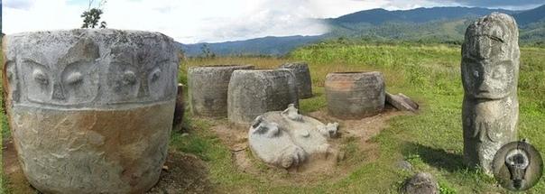 О сотнях древних мегалитов Сулавеси, найденных в Индонезии