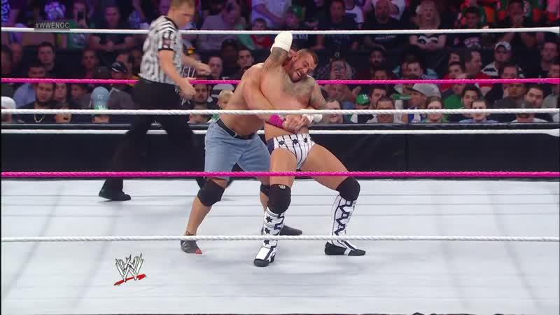 WM СМ Панк против Джона Сины Ночь Чемпионов 2012