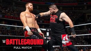 FULL MATCH - Sami Zayn vs. Kevin Owens: WWE Battleground 2016