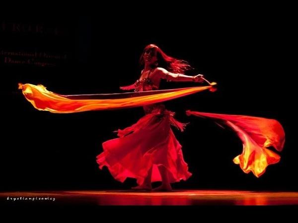 Jasirah double veil poi on Euro Raks II The story of the Phoenix