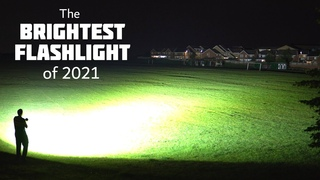 2021's Brightest Flashlight in the World - Lights up a City!!!