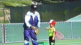 Never-before seen footage of Novak Djokovic's first training session