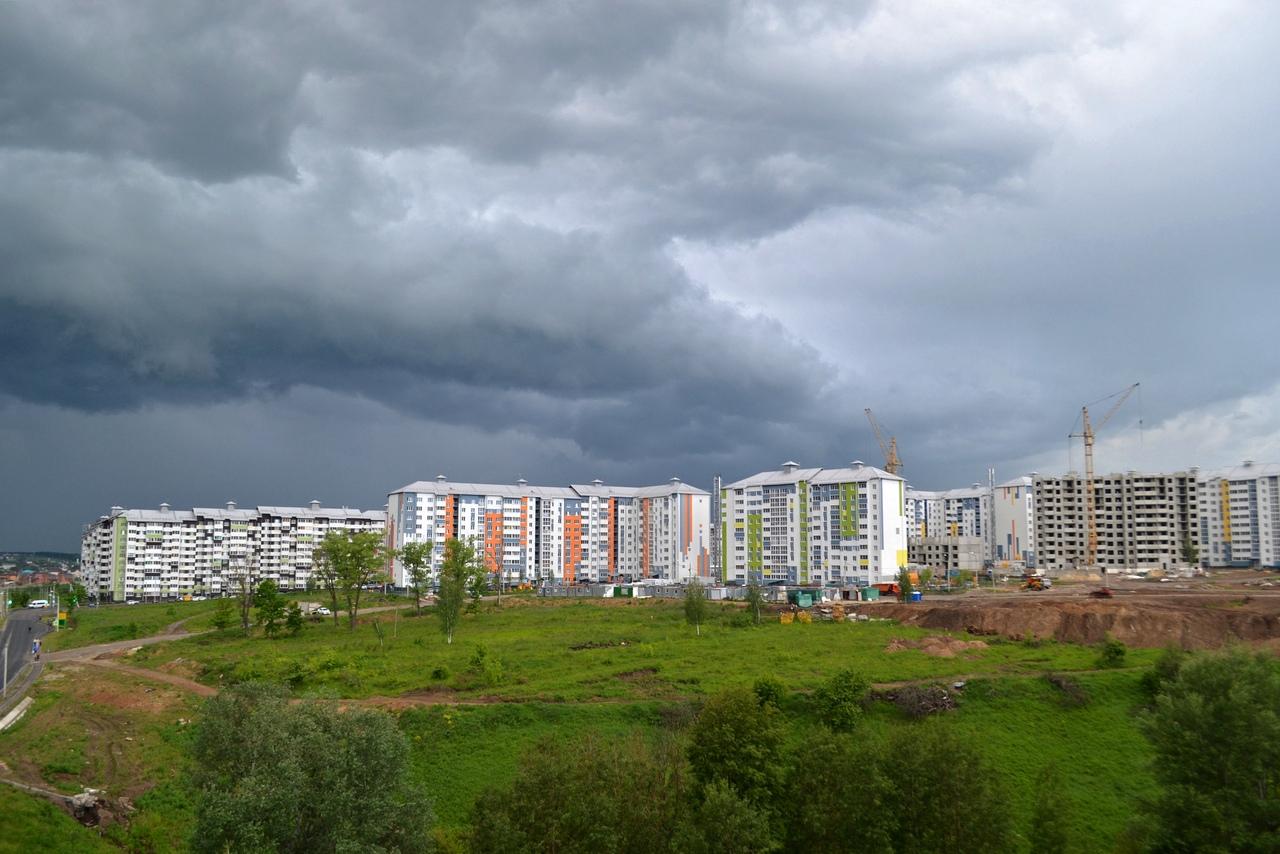 На Курскую область надвигается непогода