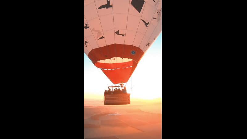 Утро на воздушном шаре