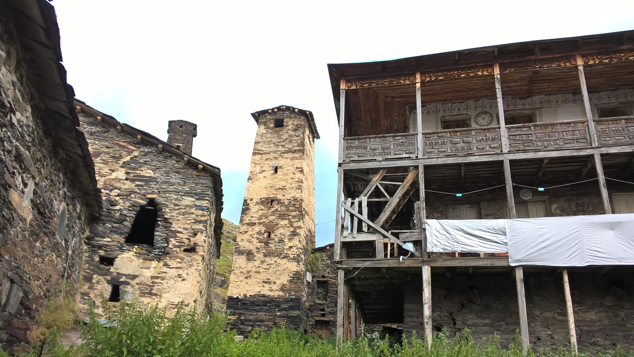 a lot of interesting old towers and houses