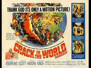Crack in the World (1965) Dana Andrews, Janette Scott, Kieron Moore