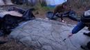 дорожка для дома из арт бетона , под декоративный камень , часть вторая.