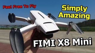 FIMI X8 Mini Flight Review Mini GPS Quadcopter Drone