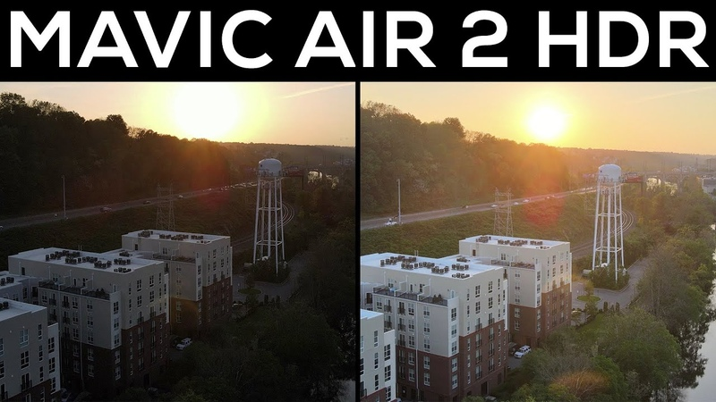 DJI Mavic Air 2 - HDR Video That's ACTUALLY Worth Using