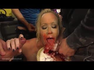 Simone Sonay безотказная мамочка Gangbang [BDSM, porno, Sex, kinky, hardcore, rough, бдсм, секс, порно, жестко]