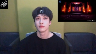 Stray kids Bang Chan listening to 'How You Like That' - BLACKPINK