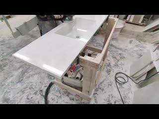 Столешница с раковиной для ванной.mp4