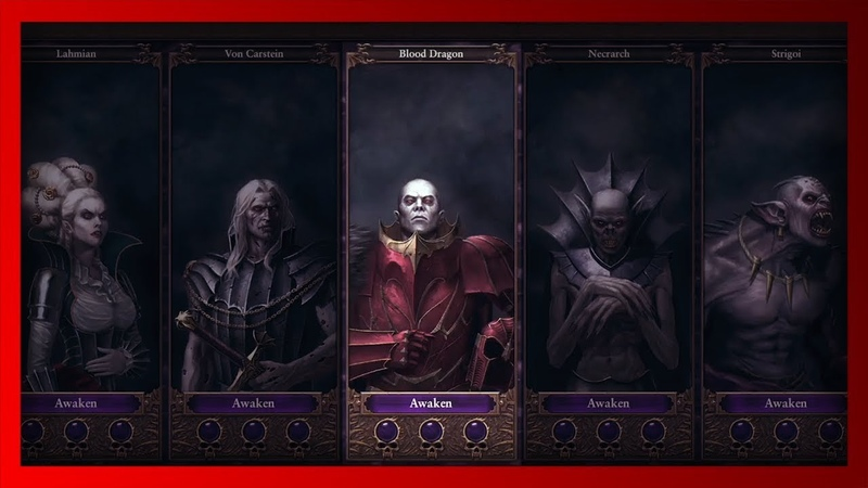 Абхораш и его Кровавые Драконы Warhammer FB I Total War