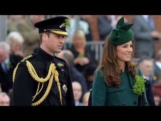 03/17 DUCHESS OF CAMBRIDGE & PRINCE WILLIAM ST PATRICK'S DAY!