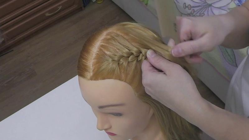 Урок 1 Плетение косы начало