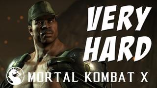 Mortal Kombat X - Jax (Wrestler) - Klassic Tower on Very Hard - NO MATCHES LOST!