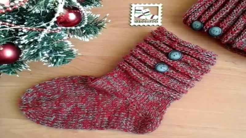 Вязание Мои Рождественные носки связаны Краткий обзор