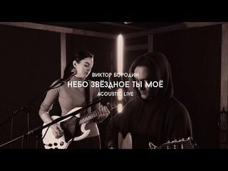 Виктор Бородин-Небо звёздное ты моё (acoustic live)