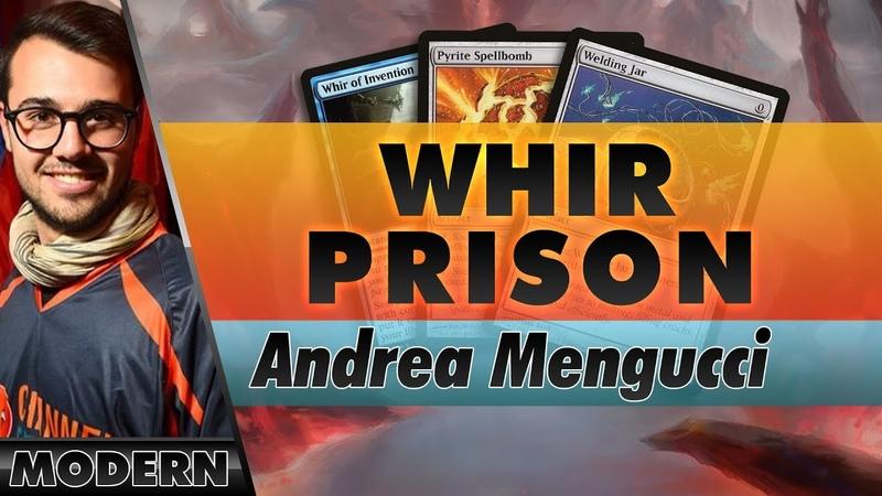 Whir Prison Modern Channel Mengucci