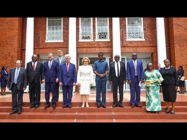 Матвиенко предложила установить безвизовый режим с Замбией