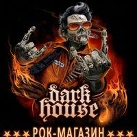 Логотип Магазин рок-атрибутики Dark House в Новосибирске