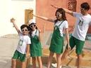 Модная одежда для пар летняя белая футболка папы и сына зеленые шорты комплект мама дочка платье