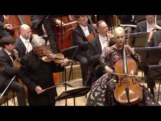 Brahms Double Concerto in A minor, Op. 102 - Zubin Mehta, Pinchas Zukerman, Amanda Forsyth