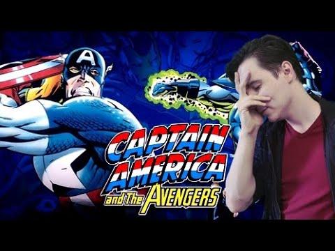 Лучшая игра про Мстителей ► Captain America and the Avengers