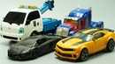 Stop Motion TRANSFORMERS - Lockdown vs Optimus Prime, Bumblebee Tobot Robots Lego IRL Film!