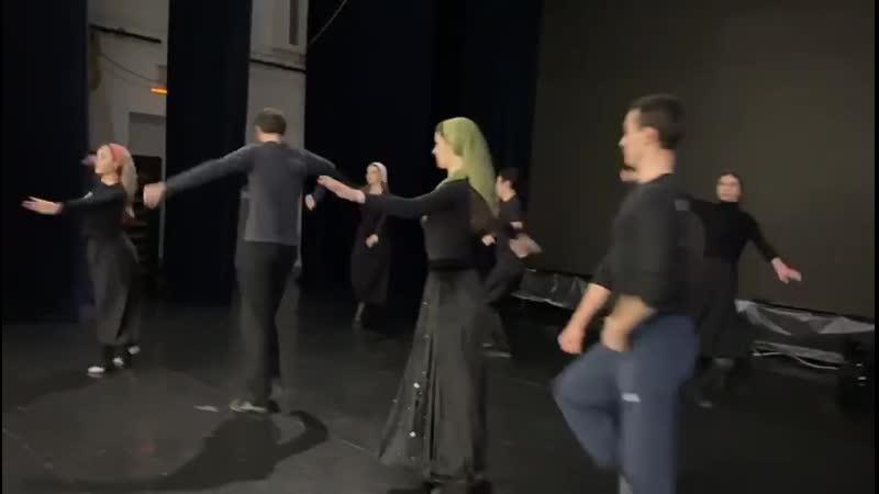 Творческий подарок от народного ансамбля кавказского танца Горец