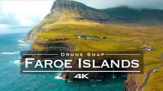 Faroe Islands 🇫🇴 - by drone [4K]