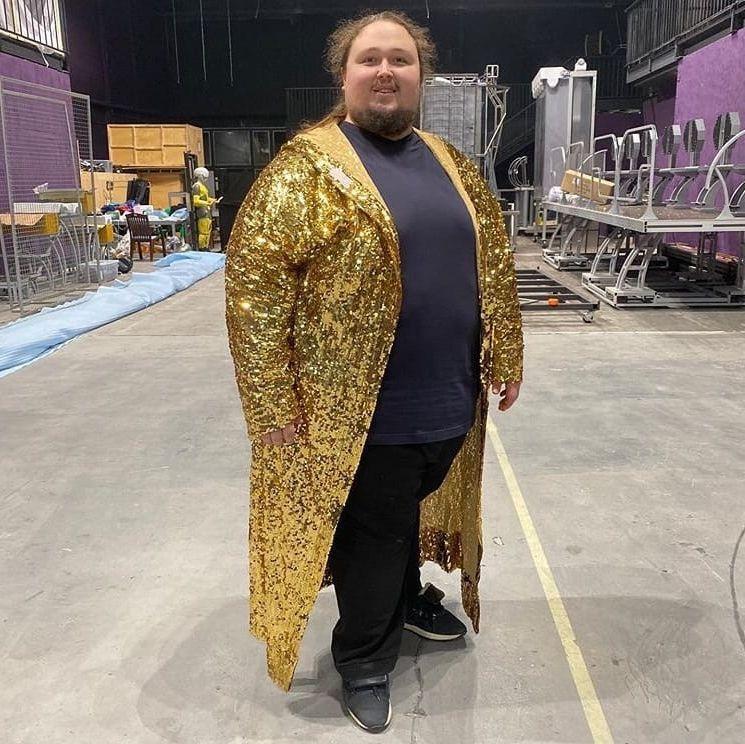 Пианист Лука Затравкин планирует увеличить свой вес до 250 кг