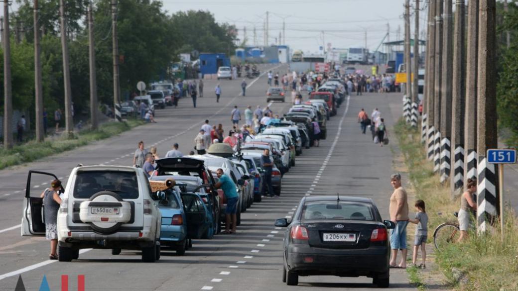 В ОРДО 25 сентября  КПВВ «Еленовка» будет пропускать людей