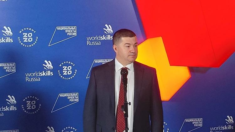 Генеральный директор Союза «Молодые профессионалы» WorldSkills Russia Роберт Уразов