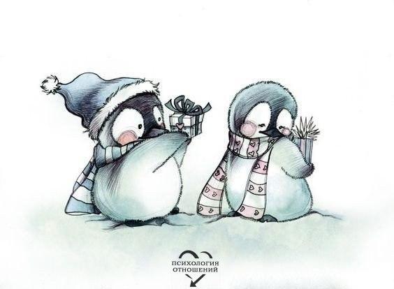 где картинка ты будешь моим пингвином снова
