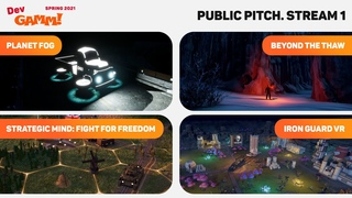 How to pitch your game? / #PublicPitch. Stream 1 (Spring 2021)