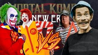 Mortal Kombat: New Era (2020) | Doink The Clown/Ronald McDonald VS Don Ramon/El Chavo