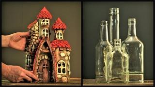 ❣DIY Fairy House Using Glass Bottles❣