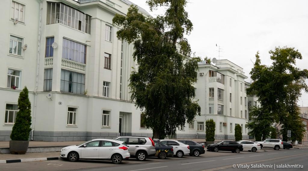 Дома около площади Куйбышева, Самара 2020