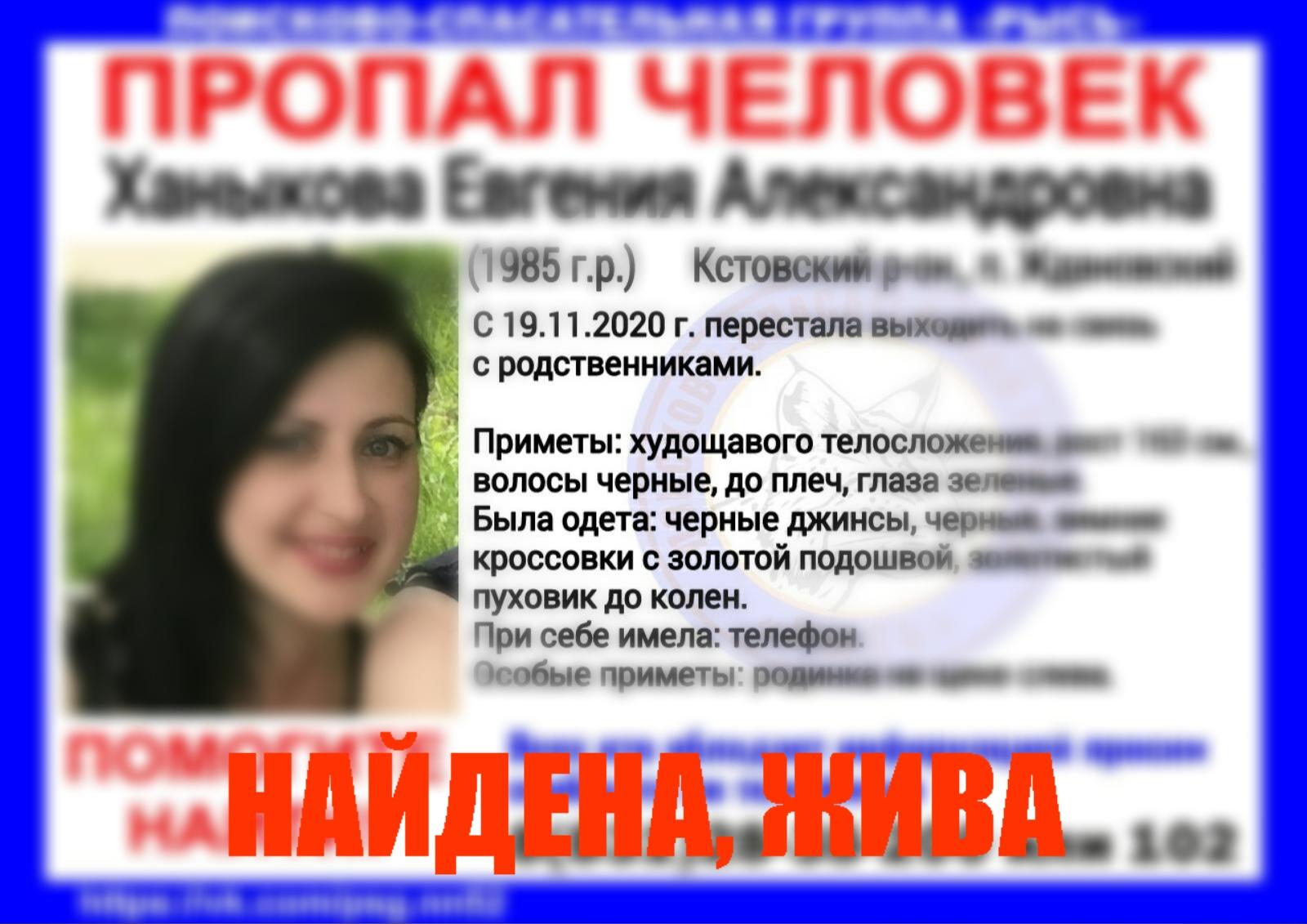 Ханыкова Евгения Александровна