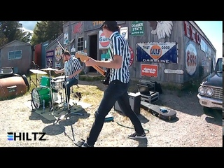 Rumble (Link Wray) performed by The Green Reflectors at Hiltz Auto Co.