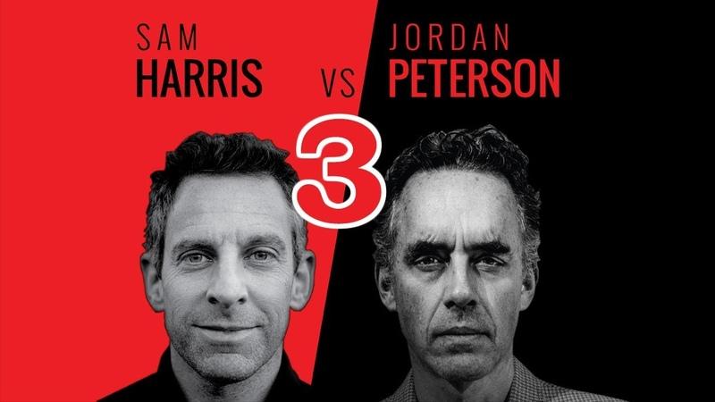 Sam Harris, Jordan Peterson Douglas Murray - Dublin